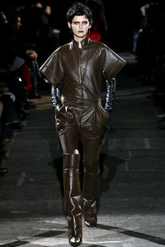 Givenchy Fall 2012...reminds me of The Girl With the Dragon Tattoo...FABULOUS!!