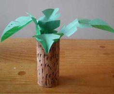 jungle craft,jungle trees,printables