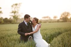 Graeme & Ellie during the golden hour in Kent