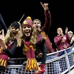 hahah its me and @Allison Shaw Go gophers!!