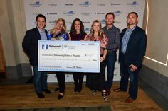 An amazing night honoring @DaleJr capped off with the announcement that the Dale and Amy Earnhardt Fund will launch with a donation of $888,888.88 to the hospital thanks to Dale, @AmyEarnhardt, @Nationwide, @tdjf and #JRNation! Incredible! Thank you! #Nationwide88 #Appreci88ion
