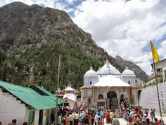 The Kedarnath Temple One among the holiest pilgrim centers in northern India, which is situated at an altitude of 3584 meters in the lap of the majestic mountain peaks.