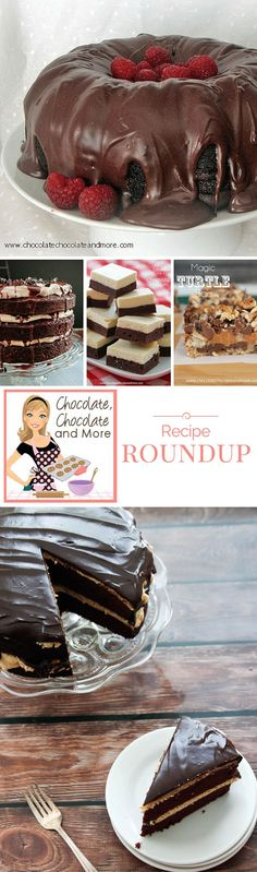 Chocolate Chocolate and More Recipe Roundup and Tribute
