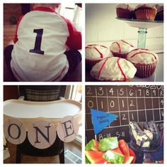 First birthday baseball theme party. All the shirt chair cupcakes and MIT in bowl! Baseball Theme Birthday, 1st Birthday Themes, First Birthday Photos, 4th Birthday Parties, Birthday Bash, Baseball Party, Birthday Ideas, First Birthdays, Event Ideas