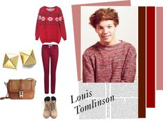 """Louis Tomlison"" by anatasia-11 ❤ liked on Polyvore"