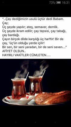 ⭐️Feyz ve hayırla geçen Cuma vakitlerine...kardeşler,arkadaşlar... Turkish Tea, Cool Words, Tea Time, Turkey, Olinda, Acupuncture, Turkey Country