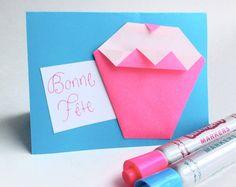 Happy Birthday! Origami, Markers, Container, Happy Birthday, Etsy, Plush, Paper, Happy Aniversary, Sharpies