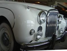 White Jaguar Mark IX