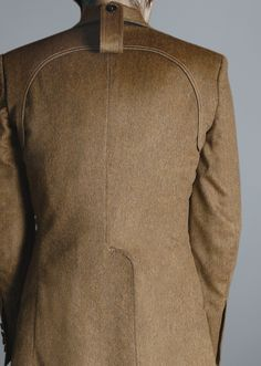 perfect cuts on coat by Duly Equipped