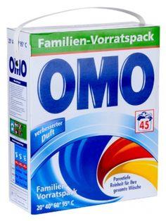 OMO 3,6kg Universal Niemiecki Proszek do prania (45 prań)  • nadaje się do kolorów i do bieli • skuteczny od 20°C do 95°C • nie pozostawia smug • nadaje ubraniom świeży zapach