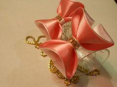 Легкий способ сделать бантик 3D МК/ DIY Make a 3D bow easily | рукодельница | Postila