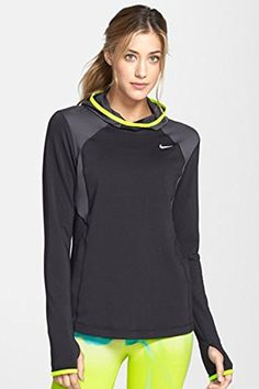 Nike Womens Midweight Long Sleeve Pullover Small >>> Click image for more details.(This is an Amazon affiliate link and I receive a commission for the sales)