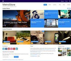 Metrostore WordPress Theme   ColorLabs