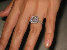 Harry Winston Wedding Band 41 Fresh Cushion cut engagement rings