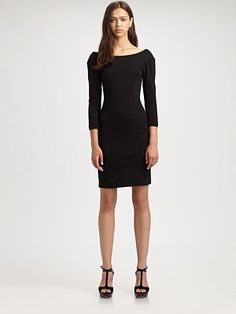 Alice + Olivia Peyton Fitted Dress