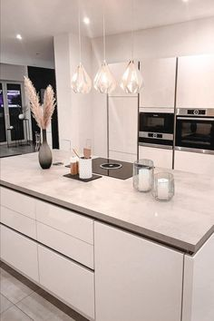 Kitchen Room Design, Home Room Design, Home Decor Kitchen, Interior Design Kitchen, Home Kitchens, House Design, Living Room Decor Cozy, Bathroom Design Luxury, Cuisines Design