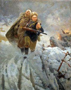 Pinturas de la URSS de la II Guerra Mundial