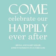 Happily Ever After 50th Anniversary Party Invitations