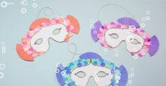 Fish masks -- This easy DIY craft idea is fun for both you and your kids.