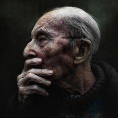Portrait, Male, Old