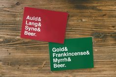 GBH HOLIDAY CARDS