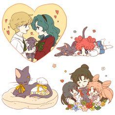 Sailor Moon / Luna adventures