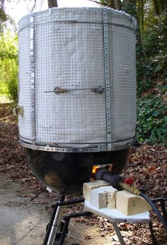 I've just finished rebuilding my raku kiln. (For those of you that have been following this blog a little bit, it's now two inches wider than the old one and can therefore accommodate t…