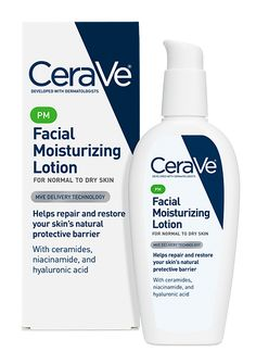 CeraVe PM Facial Moisturizing Lotion.  I place this on my crow's feet and smile lines before bed.