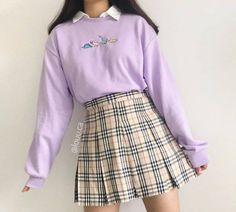 Indie Outfits, Teen Fashion Outfits, Korean Outfits, Retro Outfits, Girly Outfits, Cute Casual Outfits, Stylish Outfits, Cute Skirt Outfits, Korean Girl Fashion