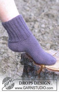 """DROPS sokker i """"Alpaca"""". ~ DROPS Design"""