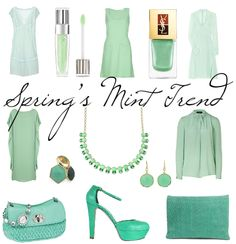 Spring 2012 mint trend