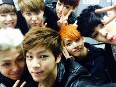 Bts selca discovered by Jung Cho-Hee on We Heart It Taehyung, Namjoon, Hoseok, Seokjin, Bts Bangtan Boy, Bts Boys, Bts Jimin, Bts Predebut, K Pop