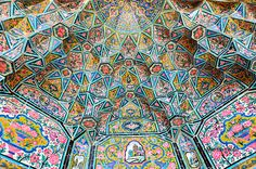 15 Mesmerizing Mosque Ceilings That Appear To Be Influenced By Psychedelia |