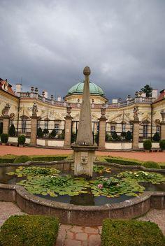 Zámek Buchlovice Buchlovice, Czech Republic Palaces, Castles, Around The Worlds, Manor Houses, Mansions, House Styles, Palace, Chateaus, Villas