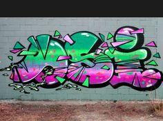 Graffiti Piece, Graffiti Words, Graffiti Art, Cool Drawings, Ideas Para, Street Art, Dots, Neon Signs, Artwork
