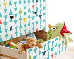 Grafico piccolo triangolo mobili moderni Stencil per Nursery Decor Stenciled mobili Upcycle fai da te