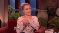 Watch Kristen Bell Adorably Lose Her Shit Over a Sloth