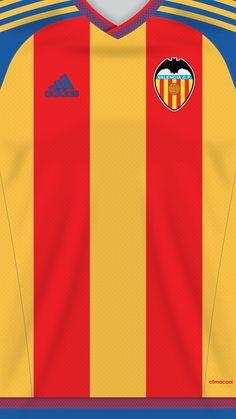 Valencia kit away Soccer Kits, Football Kits, Football Jerseys, Valencia Club, Fifa, Classic Football Shirts, Football Wallpaper, Everton, Smartphone