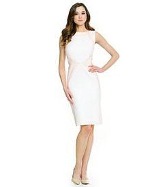 af01dbc6b9 Antonio Melani Ria Double Face Sheath Dress  Dillards Church Dresses