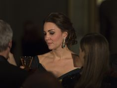 Catherine, Duchess of Cambridge attends the St. Andrews 600th Anniversary Dinner at the Metropolitan Museum of Art on December 9, 2014 in New York City. The event is created to support scholarships and bursaries for students from under-privileged communities and investment in the university's media and science faculties, sports centers and lectureship in American literature.