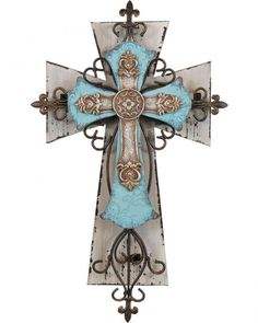 Fancy Iron Wall Cross - Sheplers
