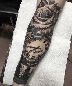 Seductive Tattoo Men Arm Hints