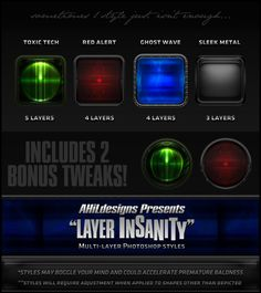 AHiL's Layer Insanity Styles