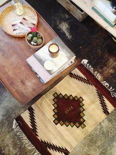 Vintage Navajo Woven Rug / 45.00