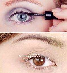4 Wrong Ways to Use Eyeliner