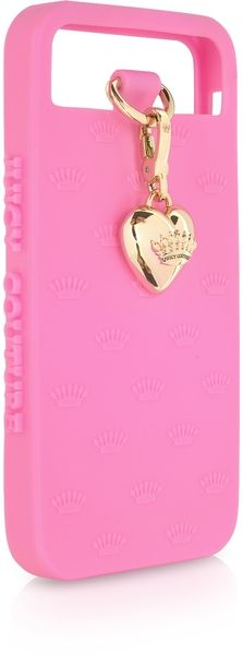 JUICY COUTURE Heart Charm iPhone Case .:JuSt*!N*cAsE:.
