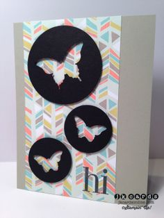 Stampin' Up!, Sweet Butterfly Sorbet, Regarding Dahlias, Sweet Sorbet DSP, Circles Collection Framelits, Elegant Butterfly Punch, Bitty Butterfly Punch