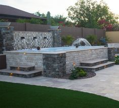 With the right design, above ground swim spa installs can look as good as inground installs!