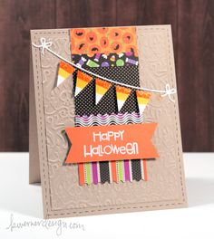 Layout for Christmas cards Friday Focus – Halloween Card #2