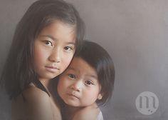Child fine art portrait photography